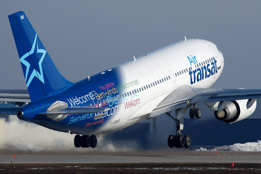 Air Transat Airbus A310 C-FDAT par BriYYZ
