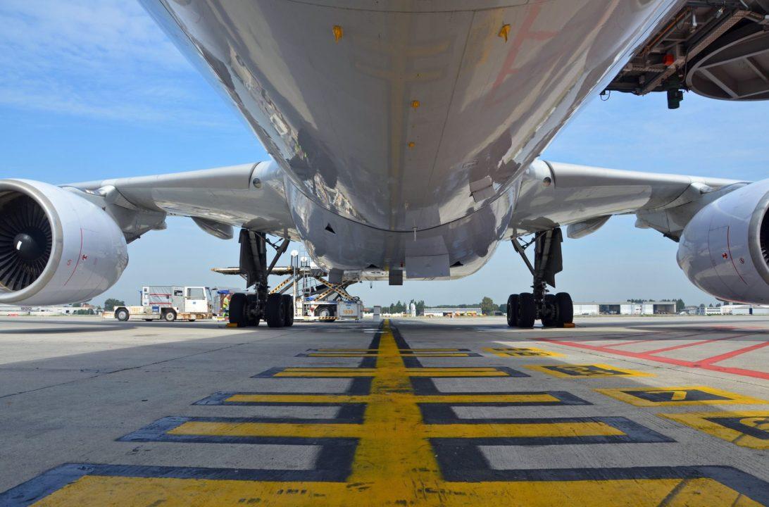 Gros-porteur sur le tarmac de Brussels Airport