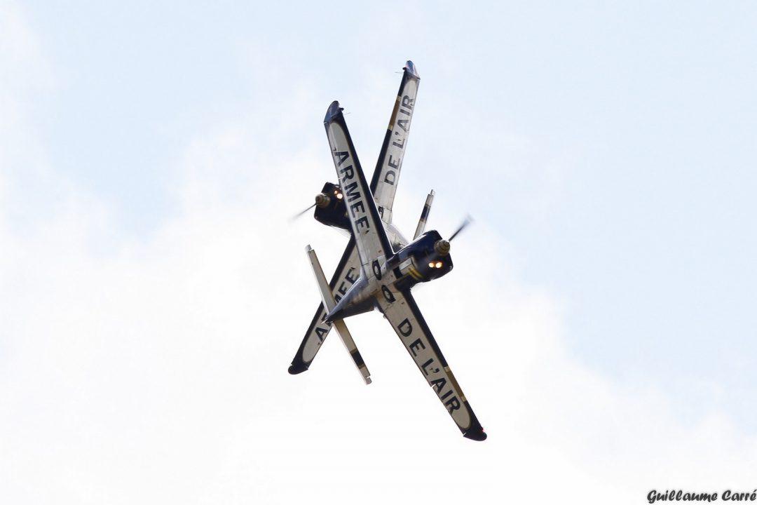 Extra de l'équipe de voltige de l'Armée de l'Air française