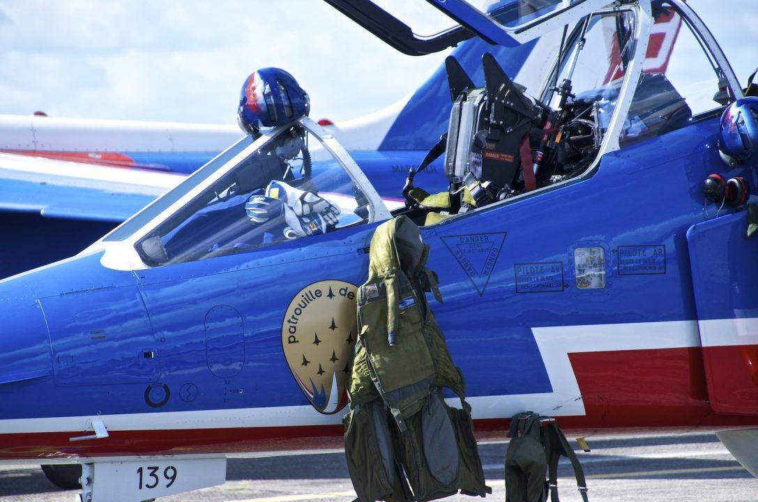 Rencontre avec la Patrouille de France 2016 - Bordeaux