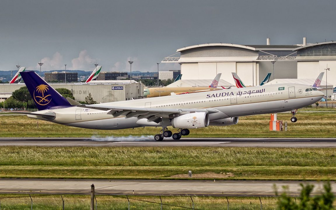 F-WWKY // HZ-AQ14 Saudi Arabian Airlines Airbus A330-343 - cn 1731