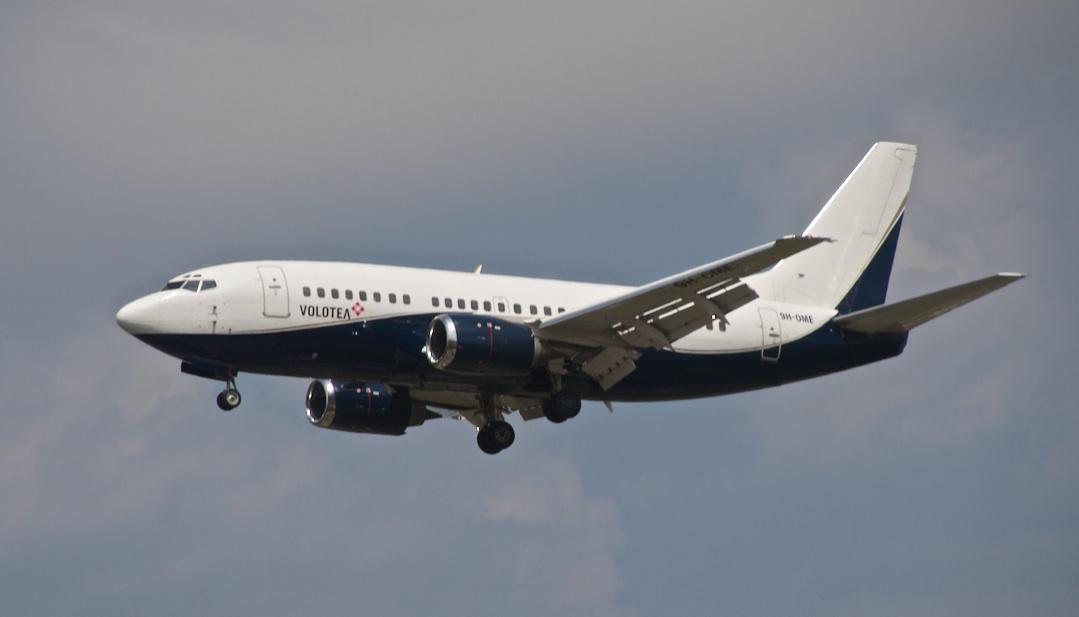 Boeing 737 avec logo Volotea