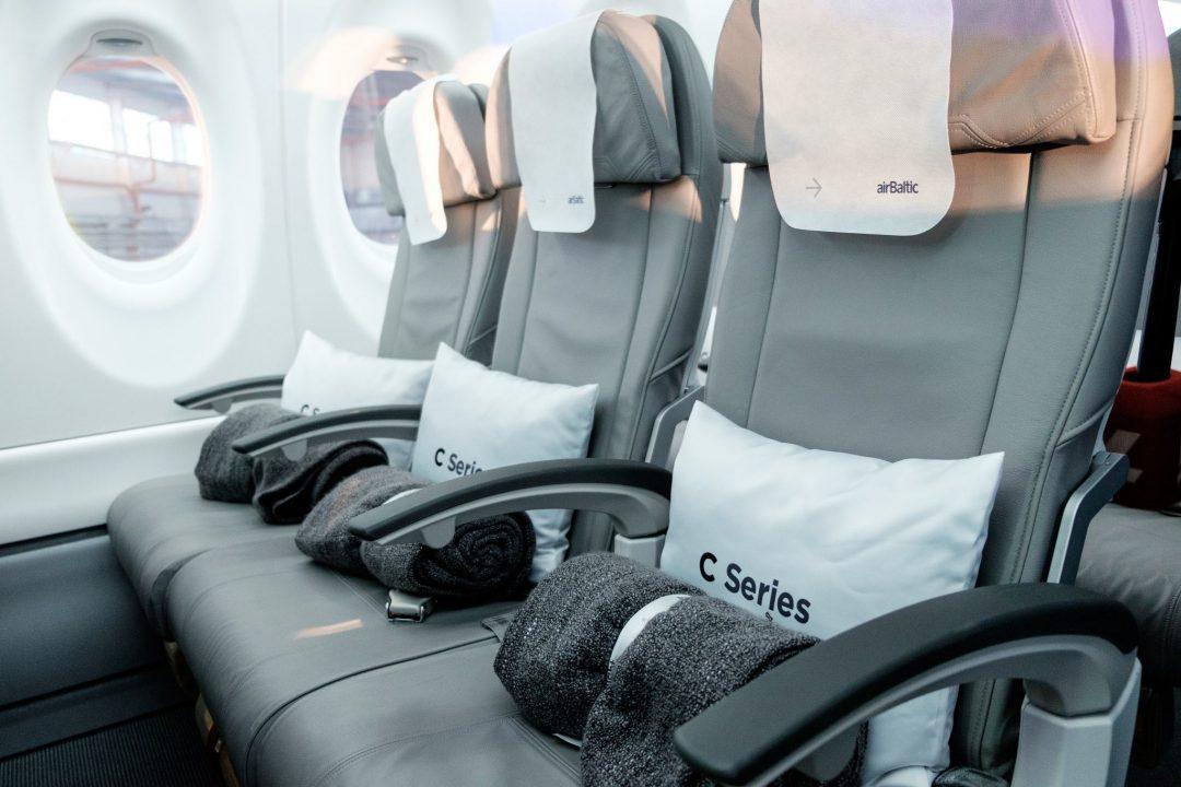Cabine du Bombardier CS300