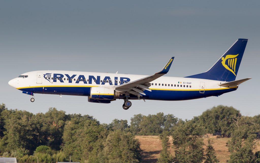 Ryanair Boeing 738 à Toulouse-Blagnac