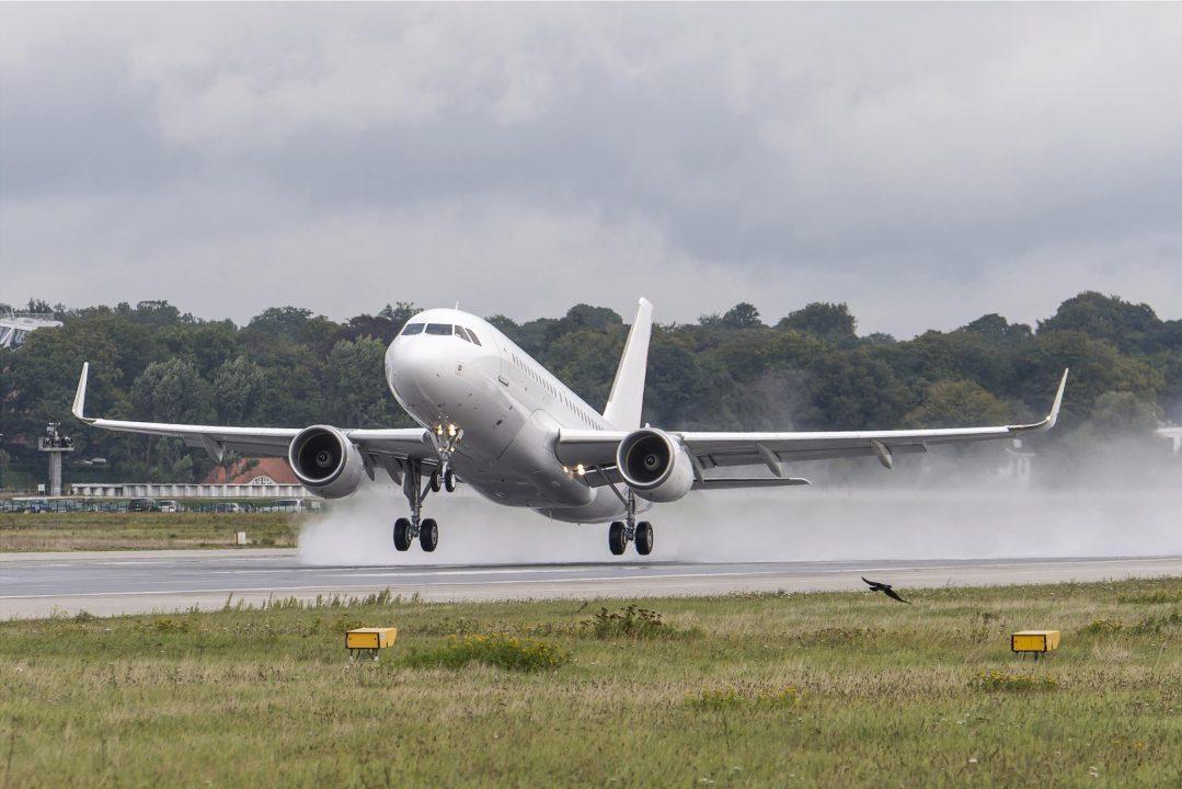 ACJ319 avec Sharklets Airbus