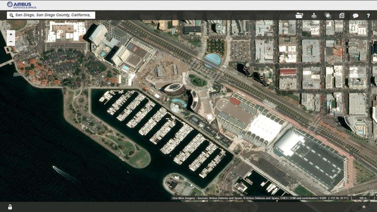 Banque images satellite One Atlas