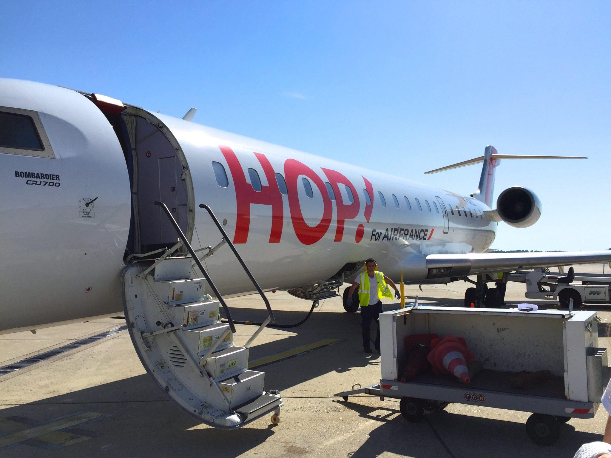 HOP! Air France - CRJ1000 entre deux rotations