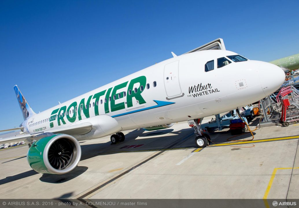 FRONTIER Airbus A320neo LEAP-1A