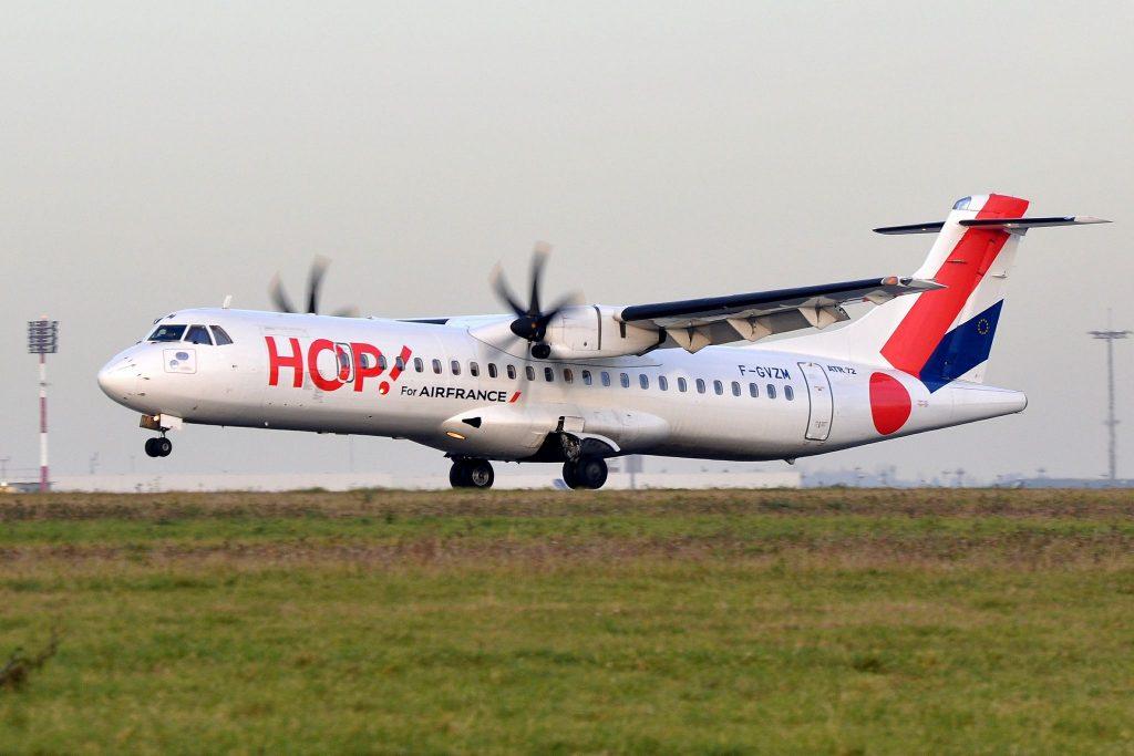 F-GVZM ATR 42 HOP! AirFrance