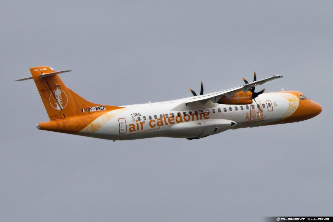 1er vol du premier exemplaire ATR_72-600 Air Calédonie