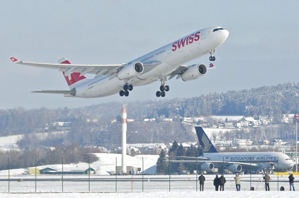 Swiss Airbus A330-343