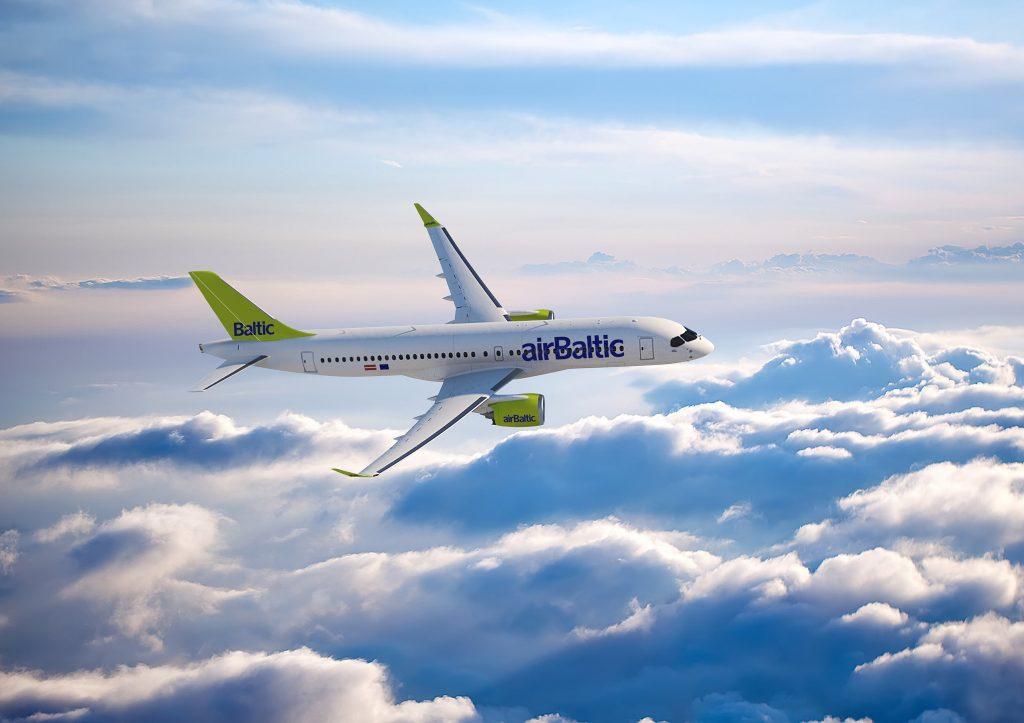 Bombardier CS300 - Image fournie gracieusement par Bombardier Inc.