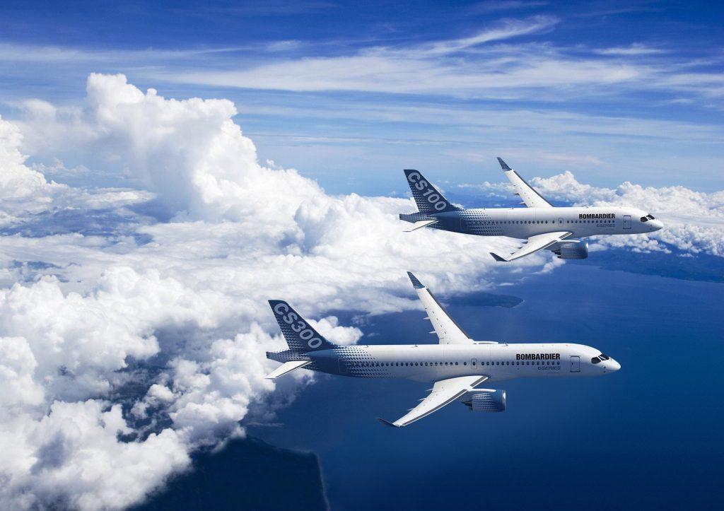 CS100 et CS300 Bombardier Aircraft