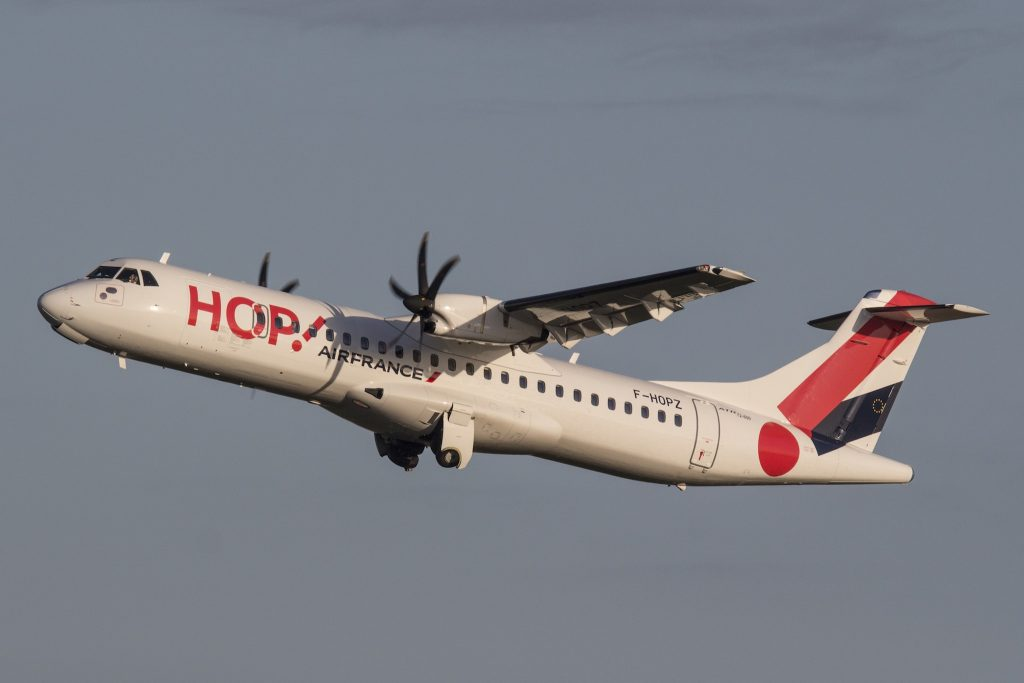 ATR 72 HOP Vincent Massé