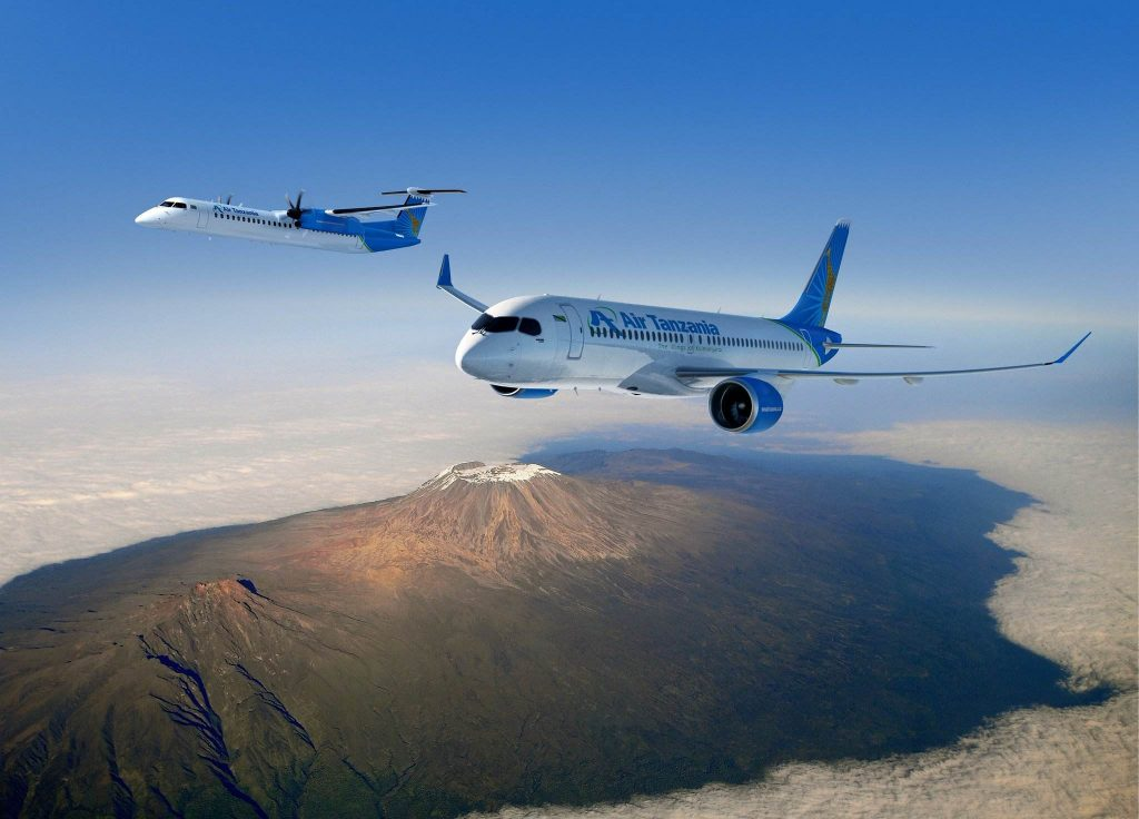 Air Tanzania Bombardier Q400 - CS300