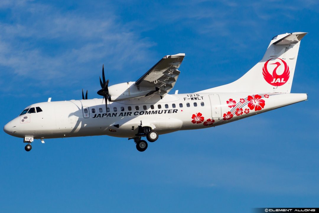 Japan Air Commuter ATR 42-600 cn 1215 F-WWLT // JA01JC