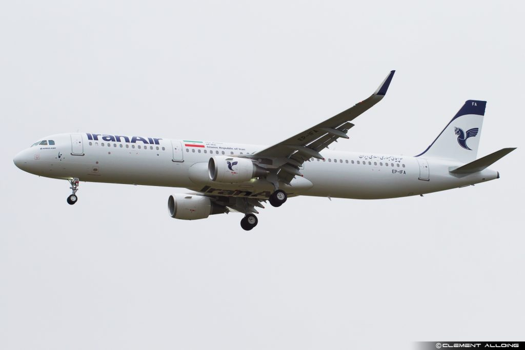 Iran Air Airbus A321-211(WL) cn 7418 EP-IFA