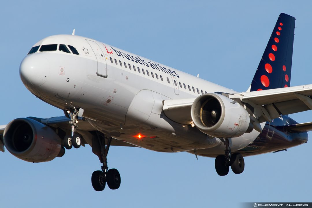 Brussels Airlines Airbus A319-112 cn 1160 OO-SSG
