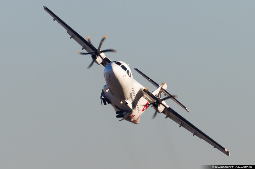 ATR42-600 Japan Air Commuter