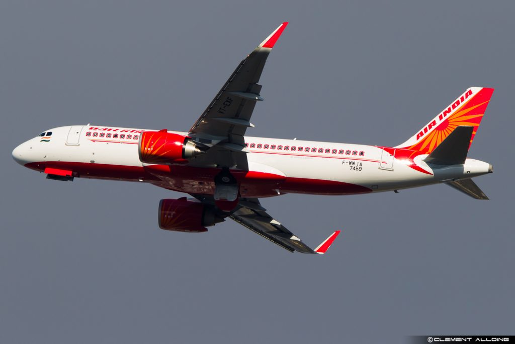 Air India Airbus A320-251N(WL) cn 7459 F-WWIA // VT-EXF