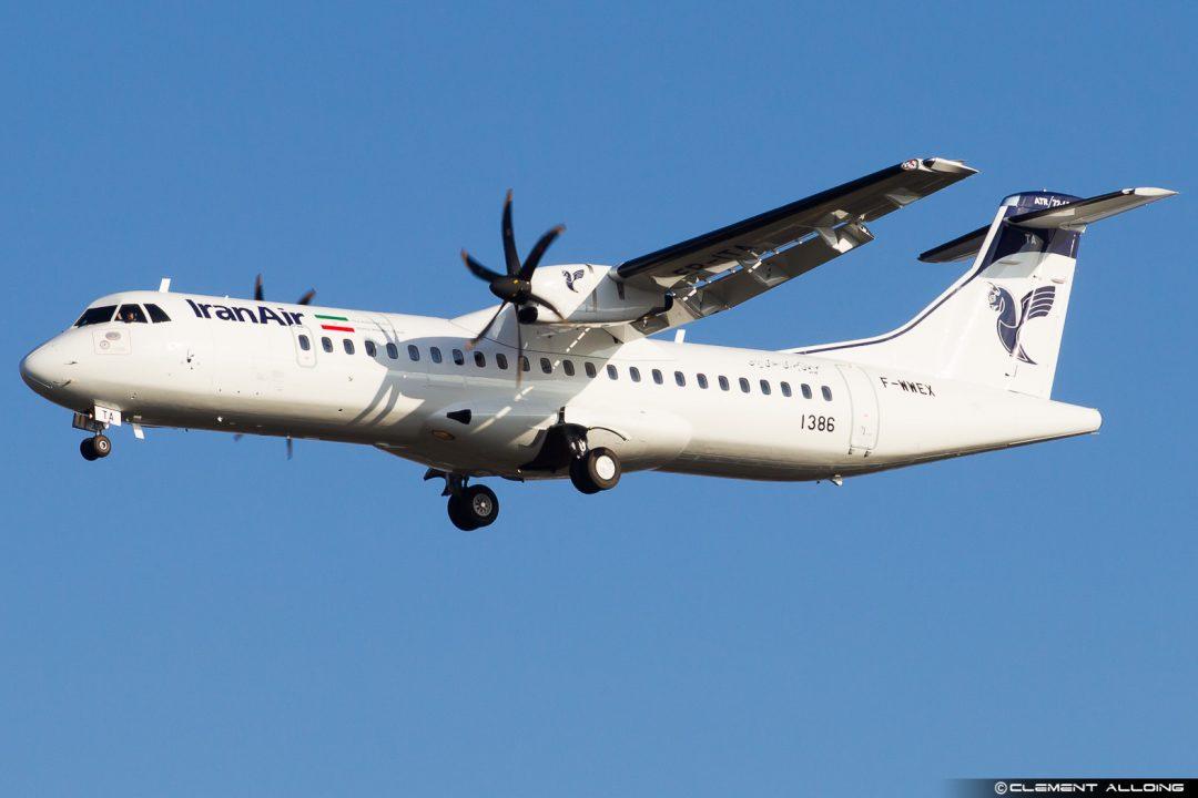 ATR72-600 Iran Air