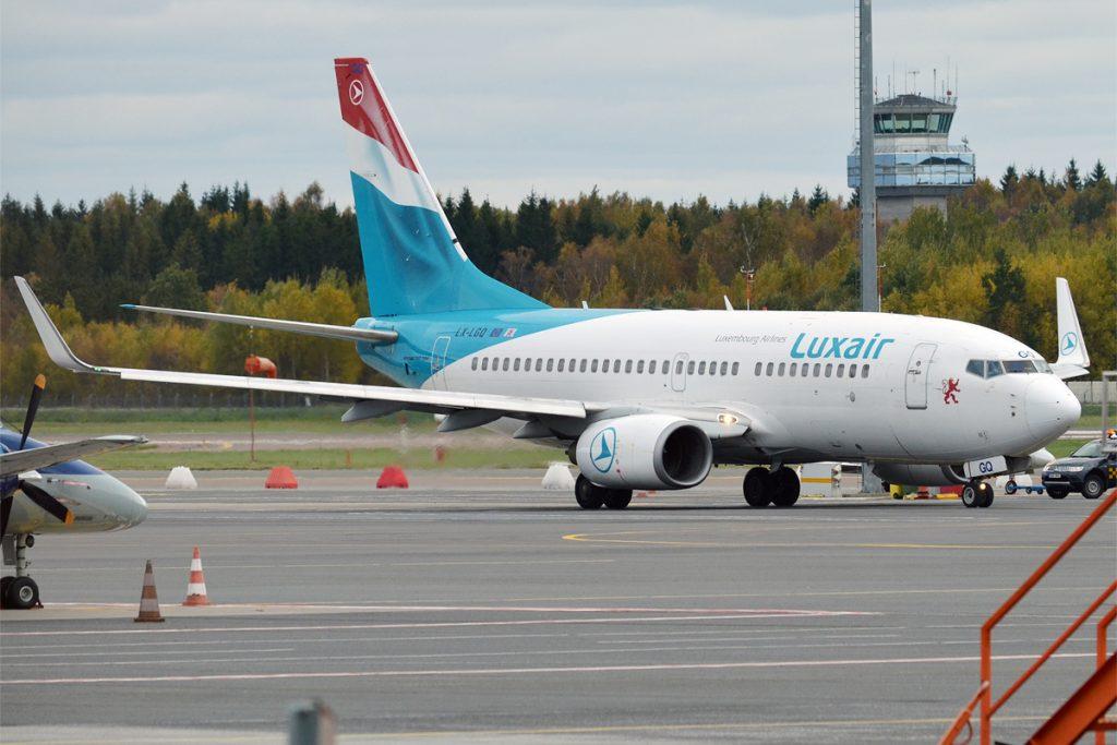 Luxair, LX-LGQ, Boeing 737-7C9