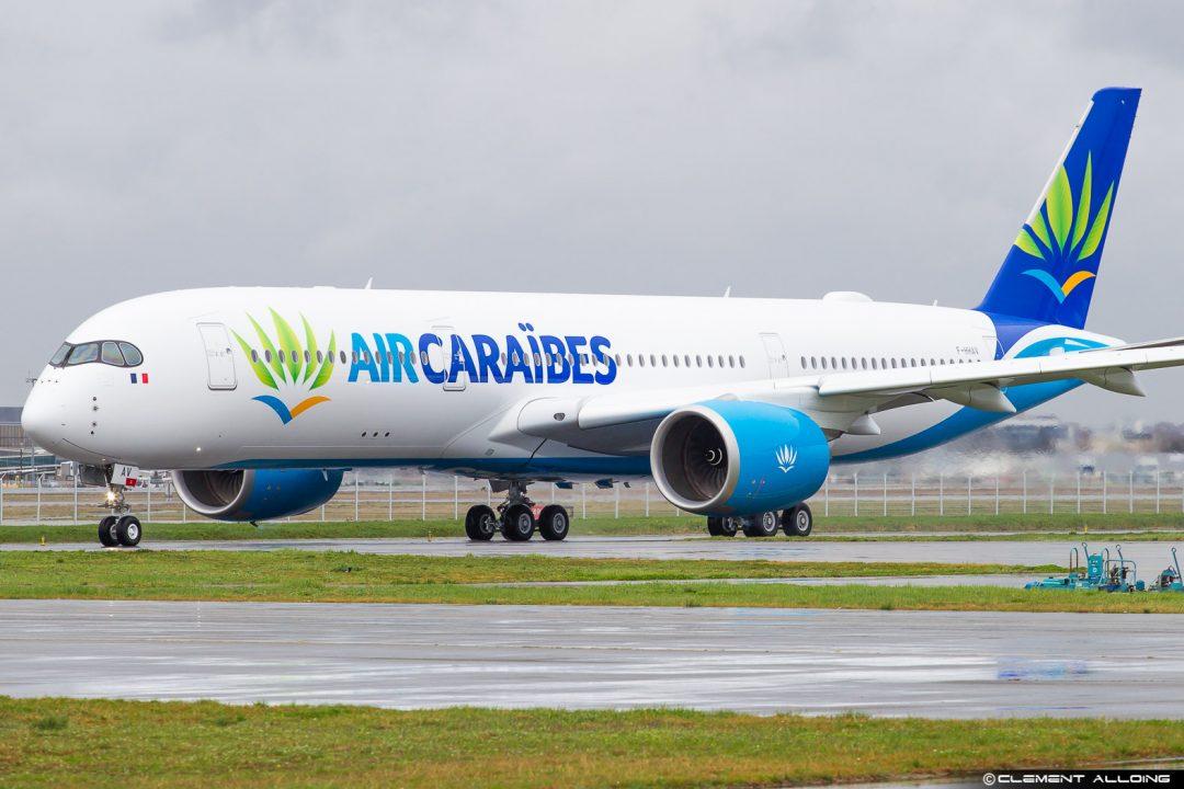 Air Caraibes Airbus A350-941 cn 082 F-HHAV