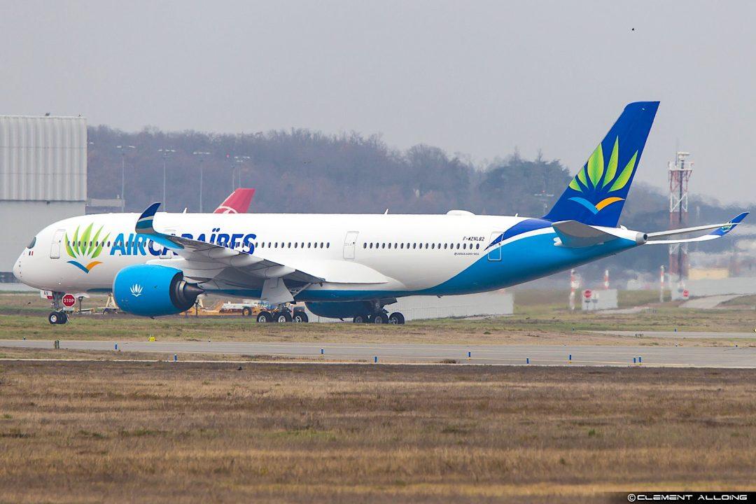 Air Caraibes Airbus A350-941 cn 082 F-WZNL // F-HHAV