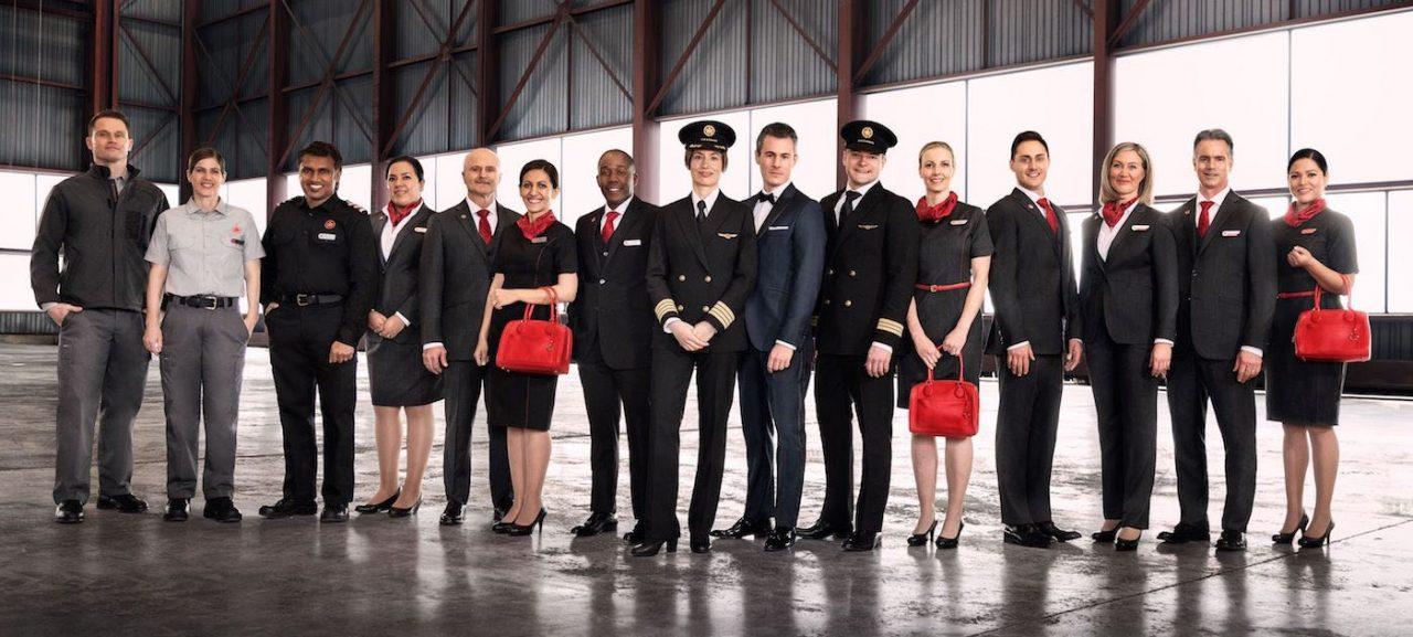 Nouveaux uniformes Air Canada