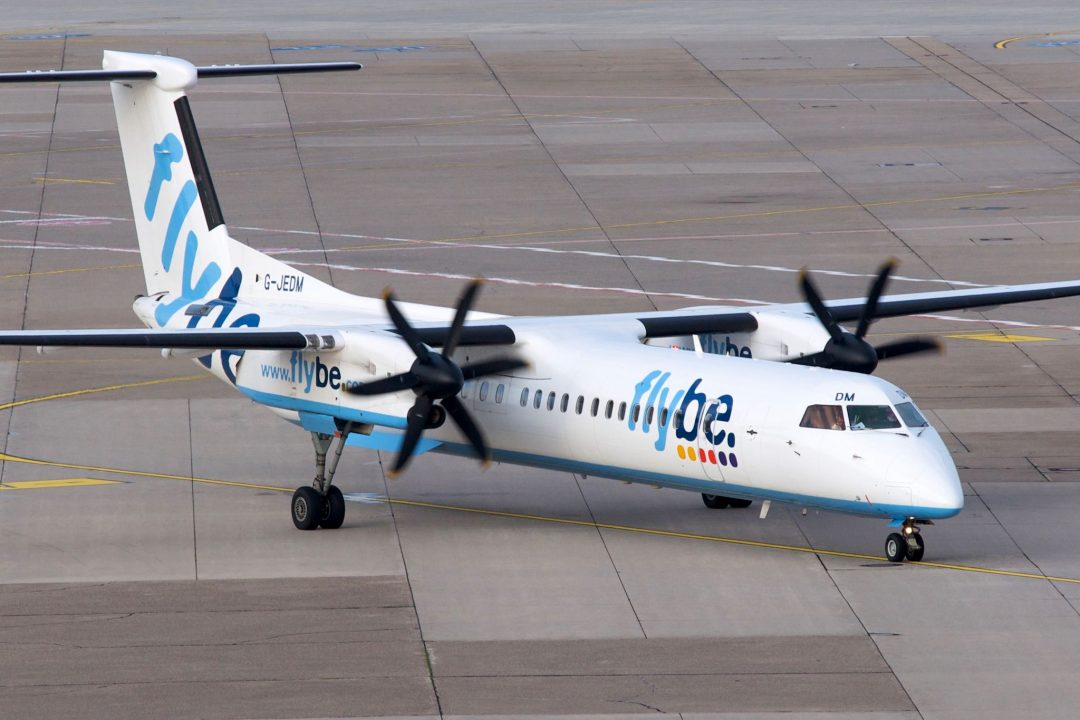 G-JEDM - Flybe Bombardier Dash800