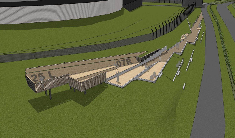 Projet du site de spotting Steenokkerzeel
