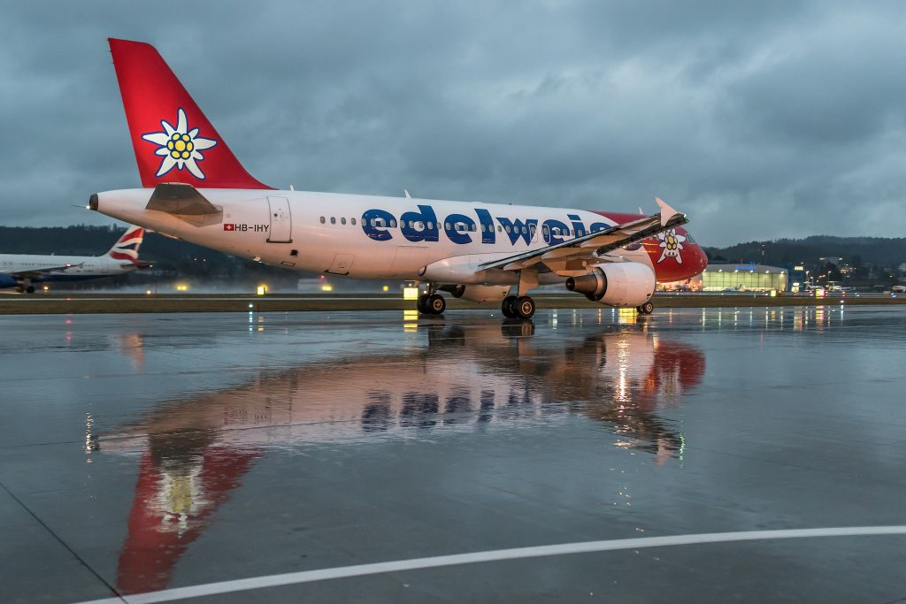 Leaving for better weather [Zurich Airport]