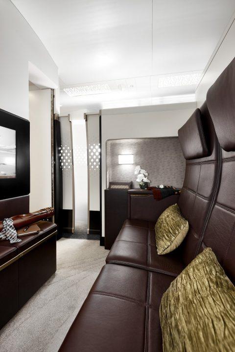« la Résidence » Etihad à bord de l'A380