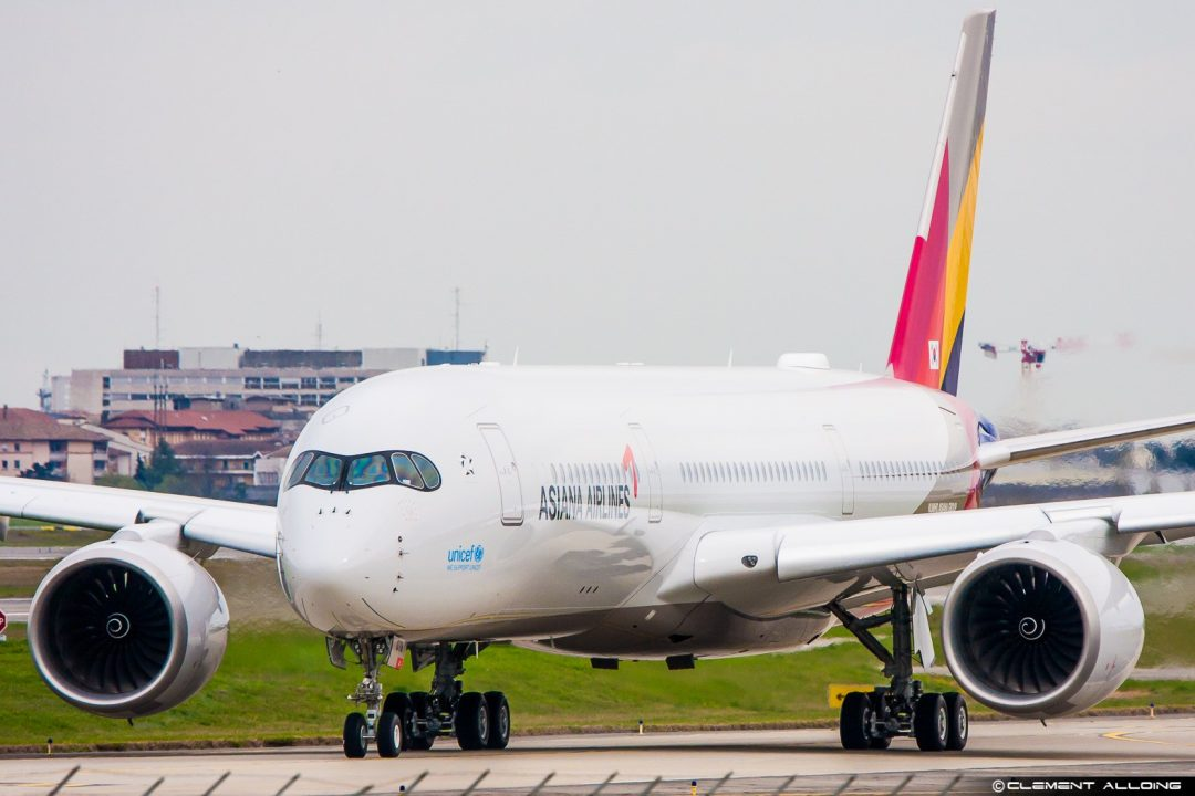 Asiana Airlines Airbus A350-941 cn 094 F-WZNY // HL8078