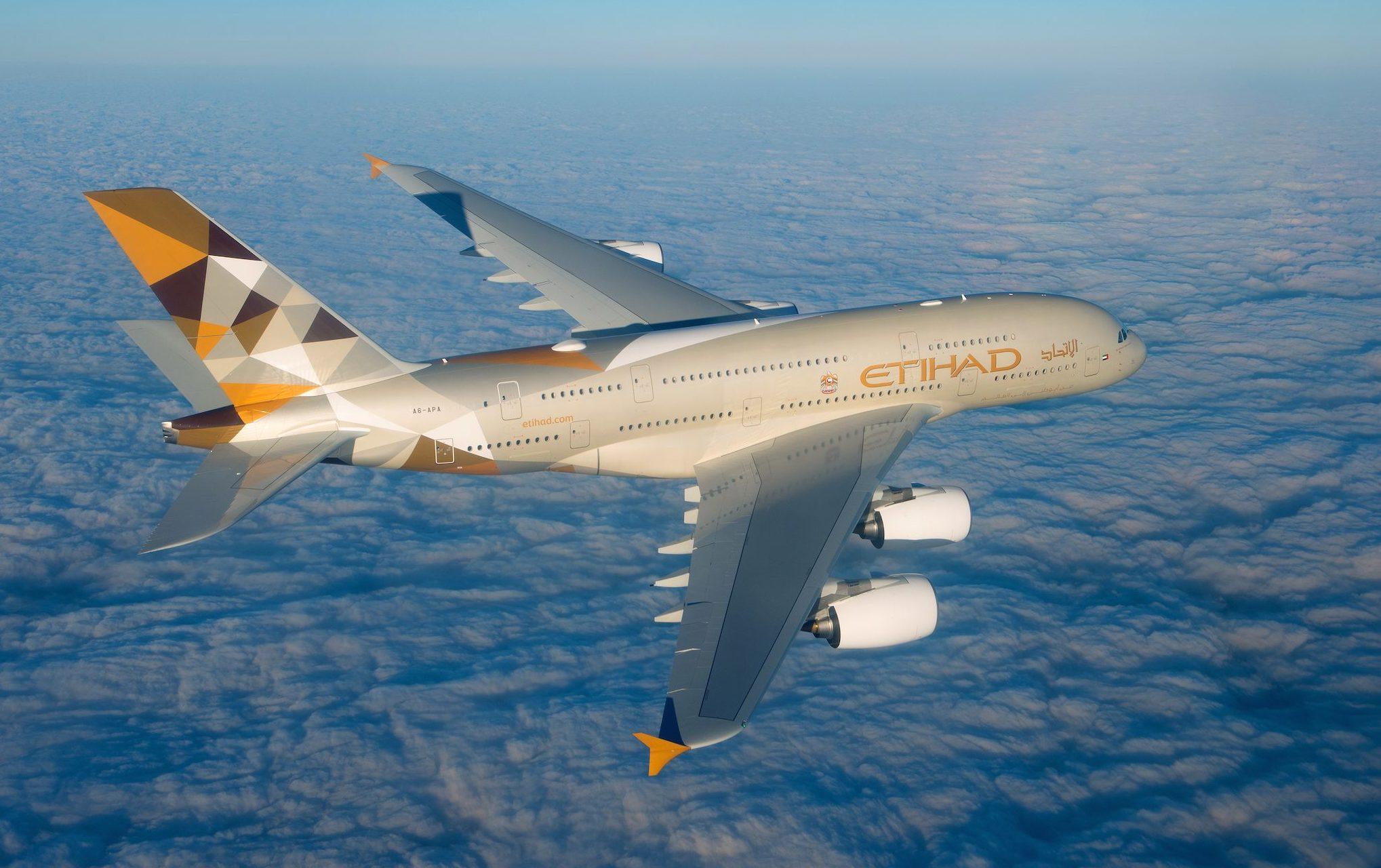 A380 Etihad Airways