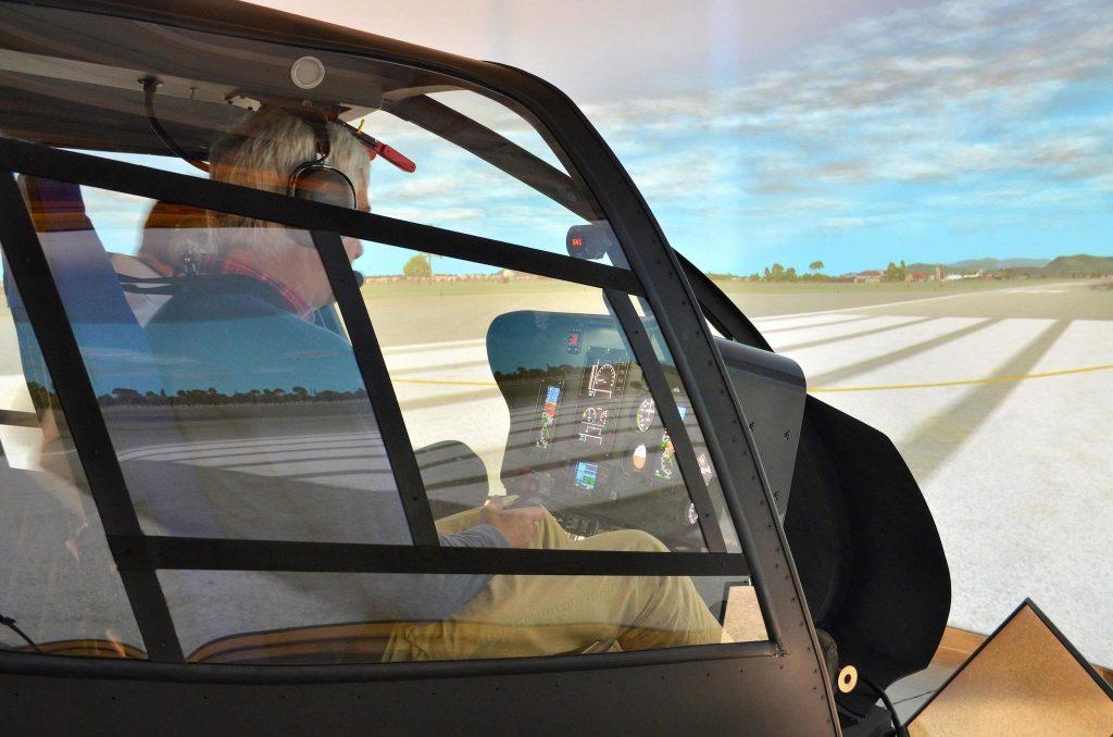 simulateur FNPT II d'entrainement au vol et à la navigation (Flight and Navigation Procedures Trainer)