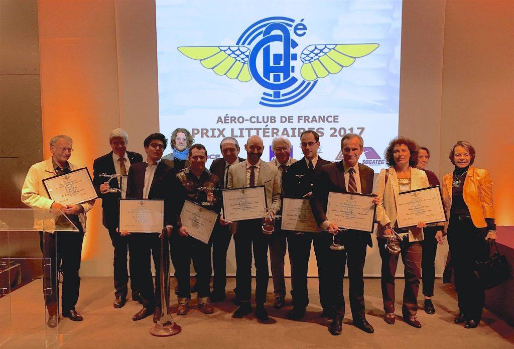 Lauréats du prix littéraires 2017 Aéro-Club de France