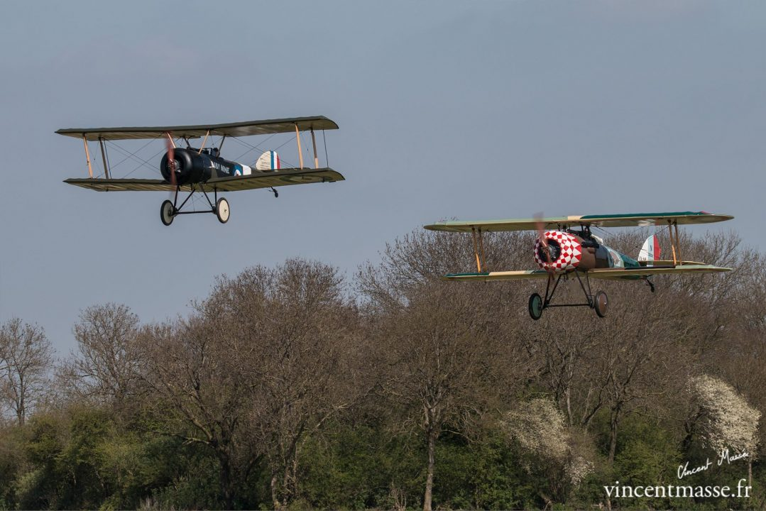 Sopwith Pup et Newport en vol