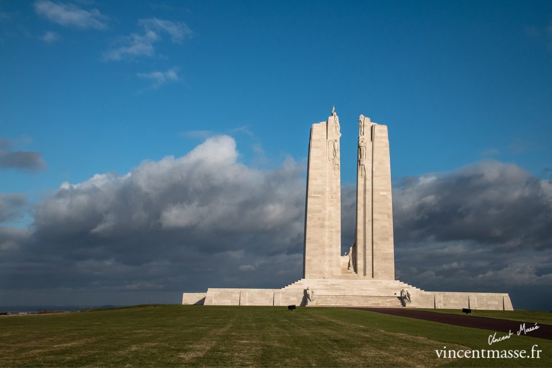 Le Mémorial national du Canada à Vimy
