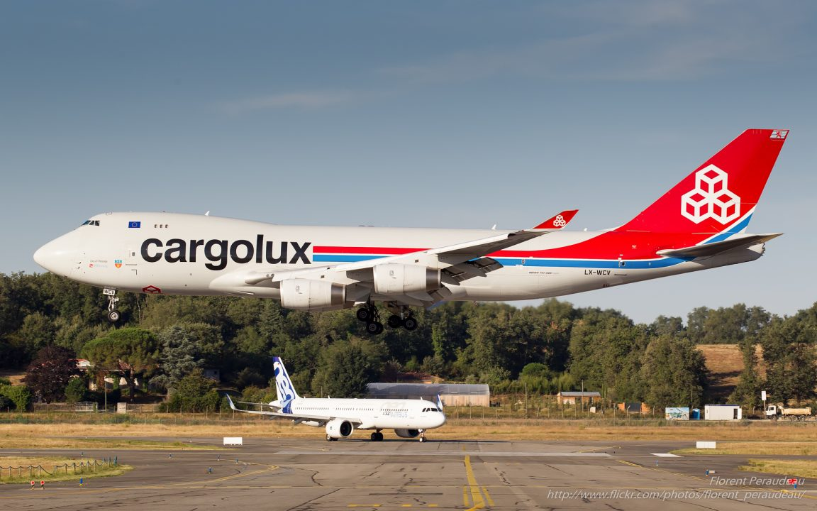 LX-WCV Cargolux Airlines International Boeing 747-4R7F - cn 35804 / 1390