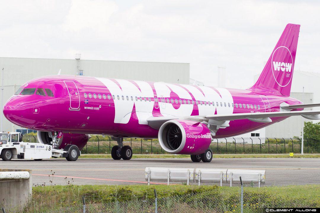 WOW air Airbus A320-251N(WL) cn 7560 TF-NEO