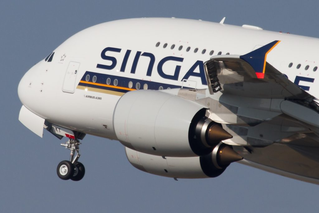 9V-SKT Singapore Airlines Airbus A380-841 - cn 092