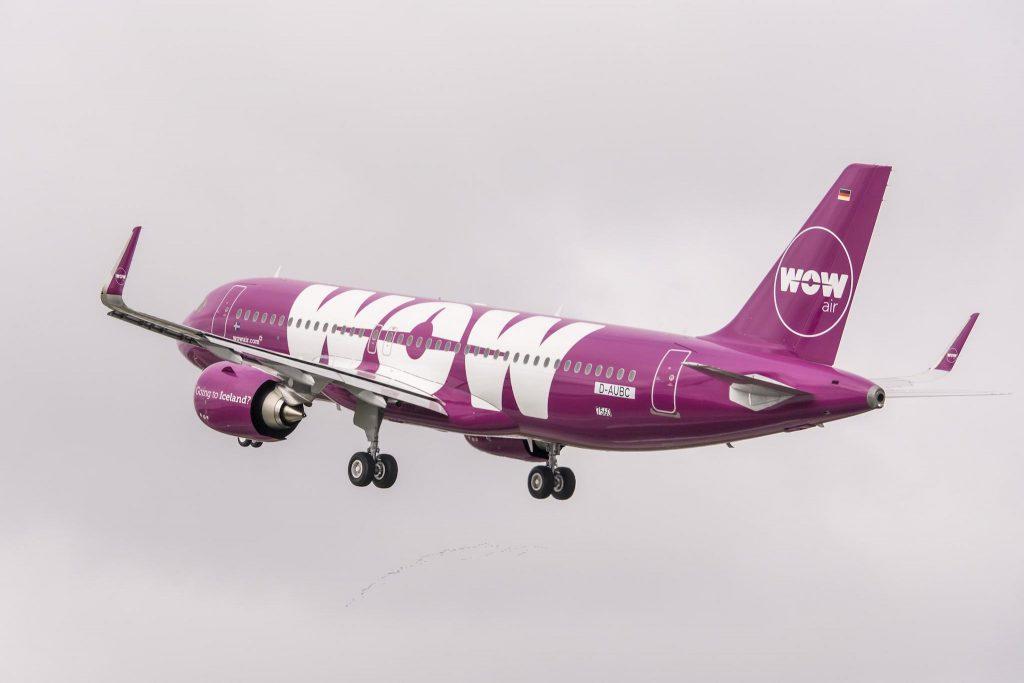 Airbus A320neo «TF-NEO» de WOW Air