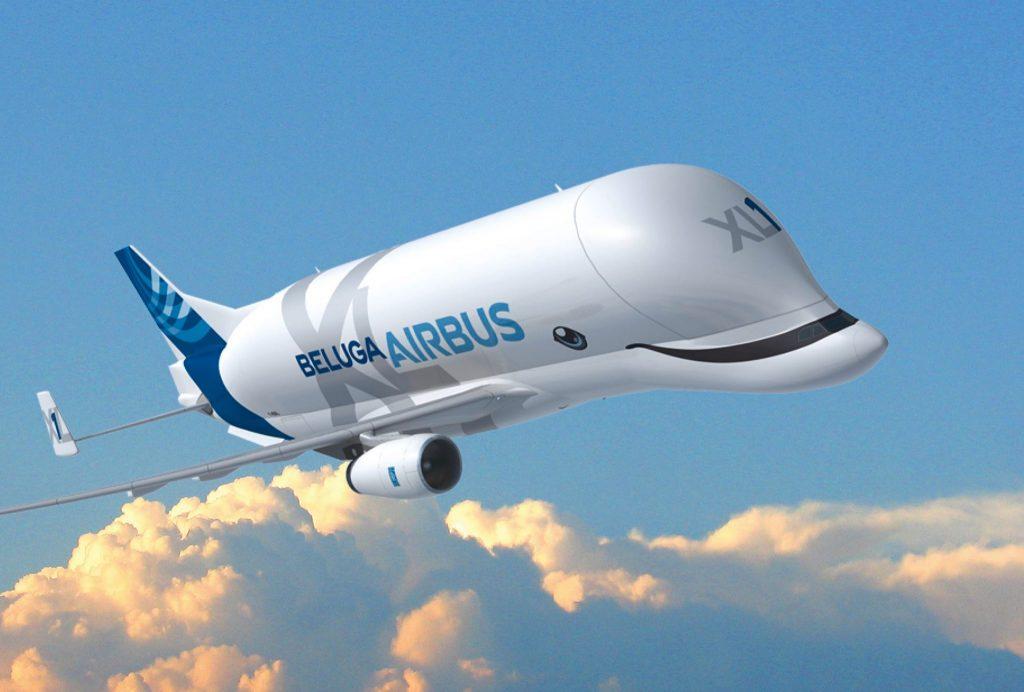 Airbus Beluga XL à l'effigie de la baleine blanche