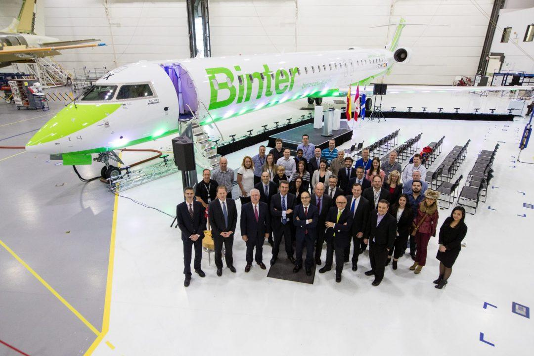 CRJ 1000 Binter