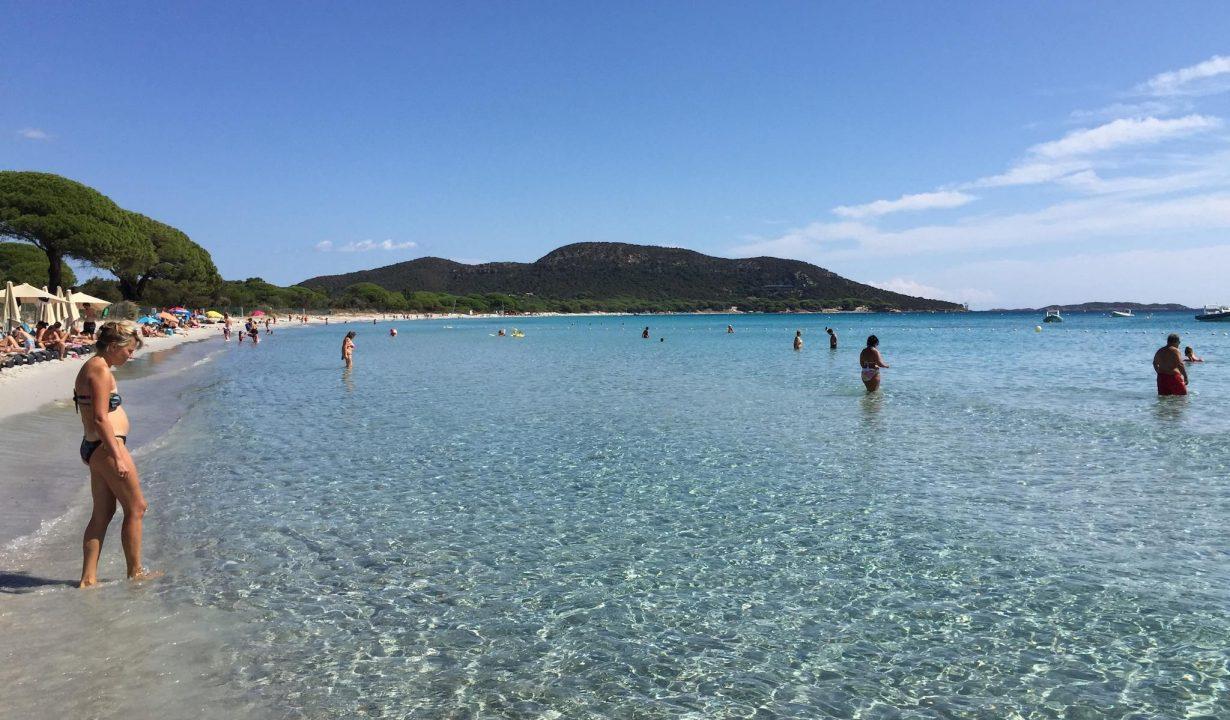 L'une des plages paradisiaques de Corse