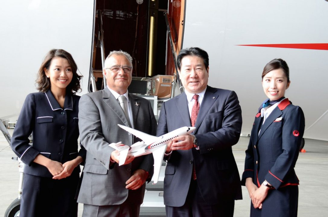 JAL Falcon Business Jet Service