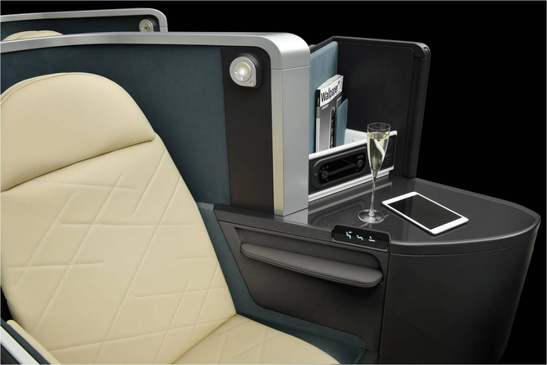 Optima de Safran Seats pour la classe Business