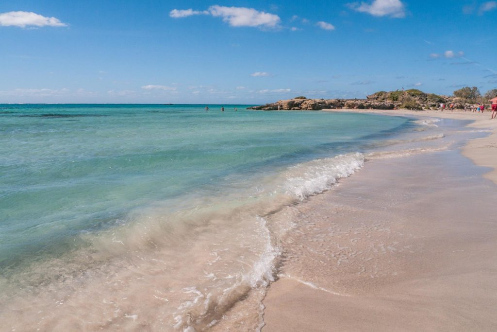 Crète, plages d'Elafonissis