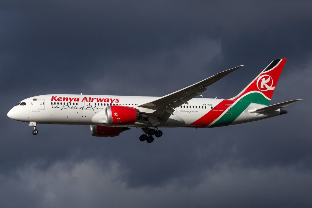 Kenya Airways_B788_5Y